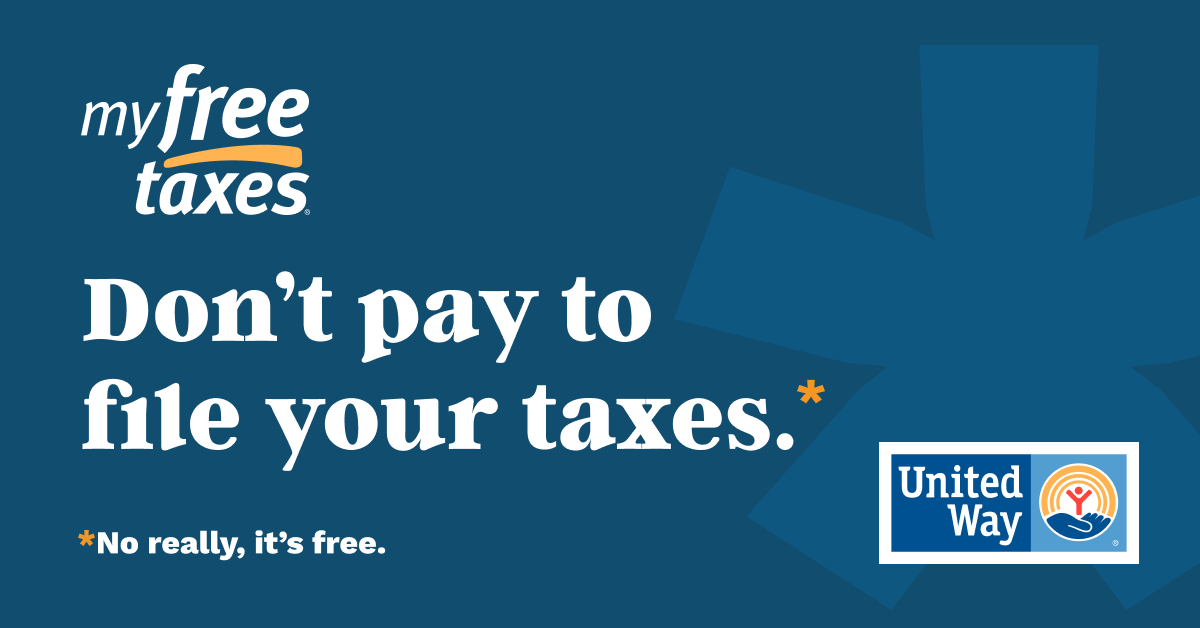 Don't pay to file your taxes.